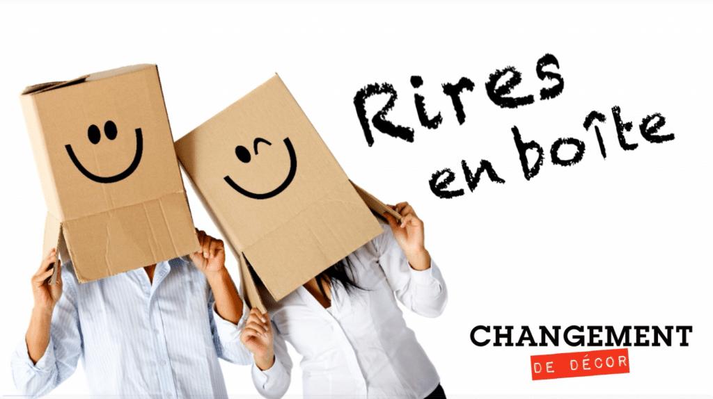 Outils de communication : Rires en boite