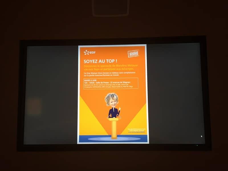 Theatre Entreprise | Outils de communication utilisées par EDF DRH Groupe