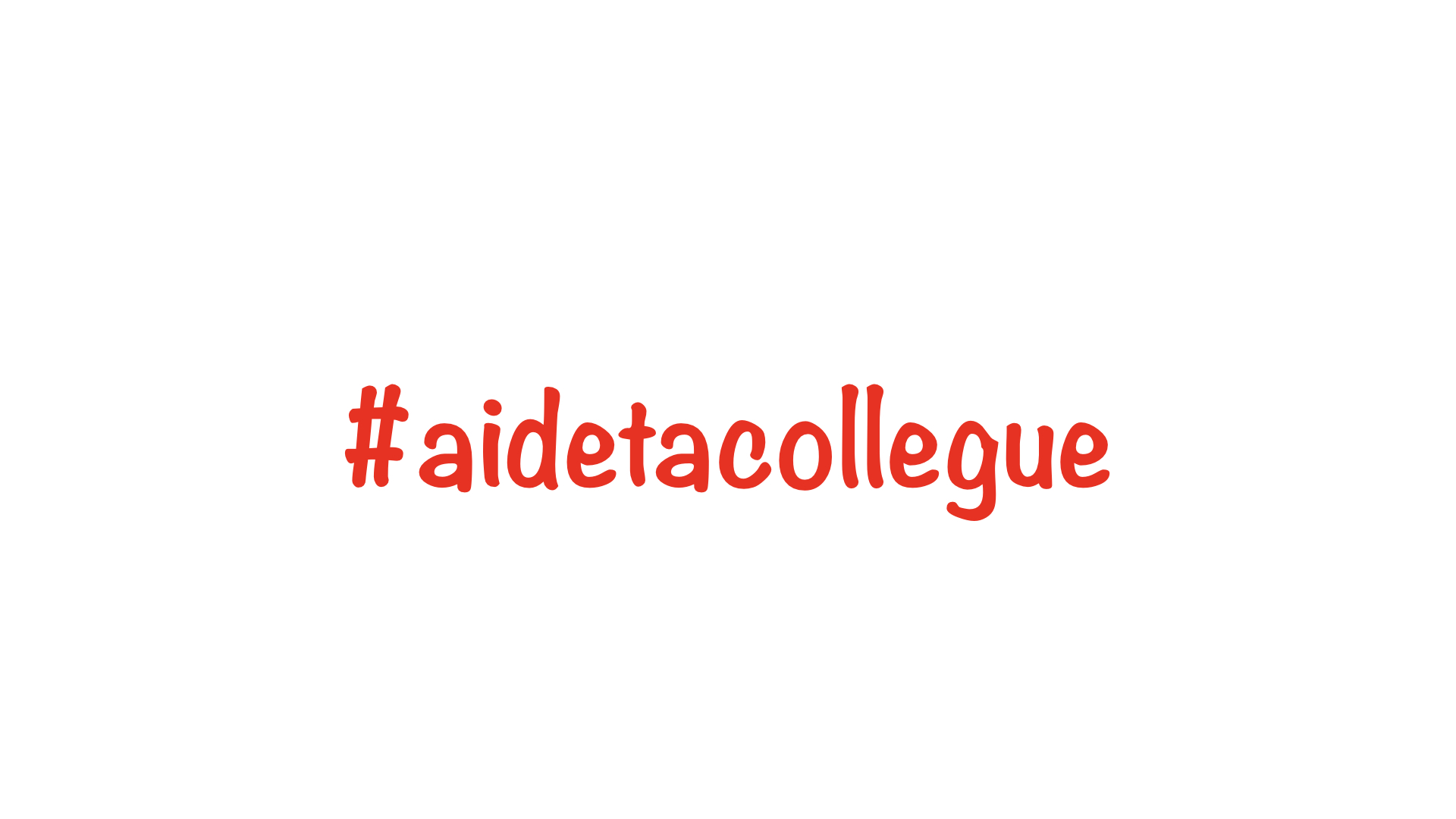 Blandine Métayer, marraine de la campagne #aidetacollegue